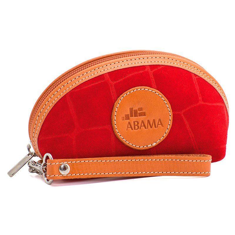 Ofeliat-Isabel-Wristlet-Red-Crocodile-Leather-Handmade-Spain