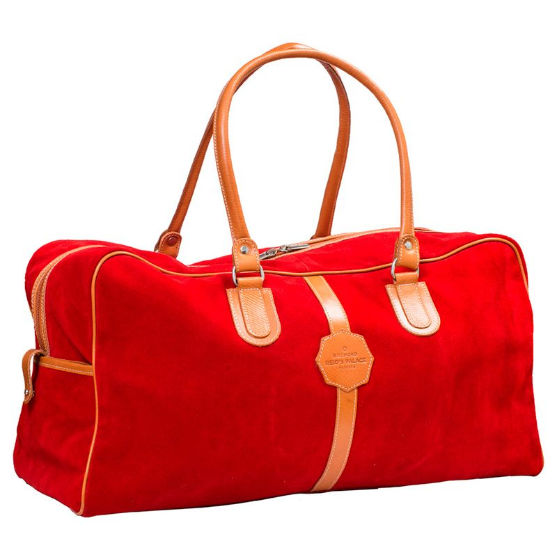 Ofeliat-Malaga-Travel-Bag-Red-Suede-Leather-Handmade-Spain
