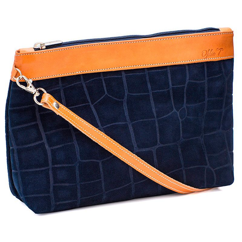 Ofeliat-Teresa-Zip-Clutch-Navy-Crocodile-Leather-Handmade-Spain