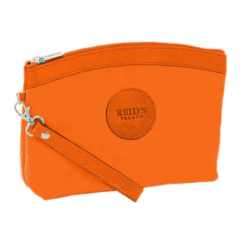 Ofeliat-Teresa-Zip-Cluth-Orange-Tone-Suede-Leather-Handmade-Spain