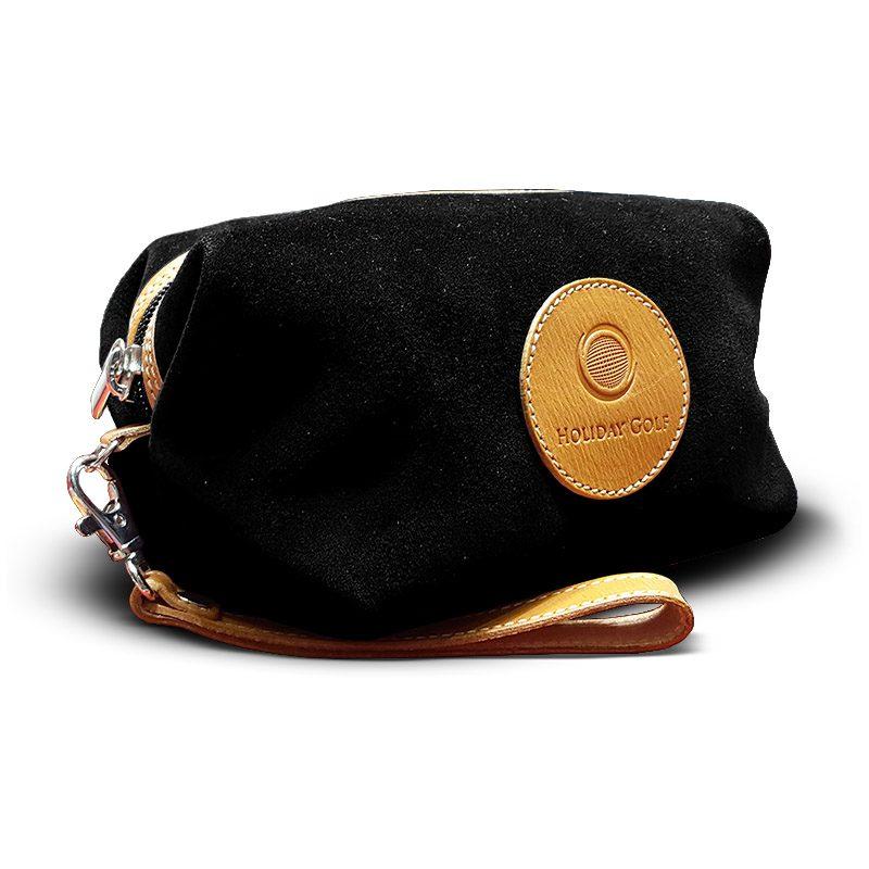 OfeliaT-Almeria-wristlet-Black-leather-handmade-spain