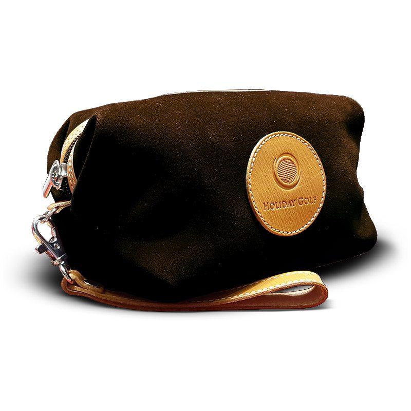 OfeliaT-Almeria-wristlet-Dark-Brown-leather-handmade-spain
