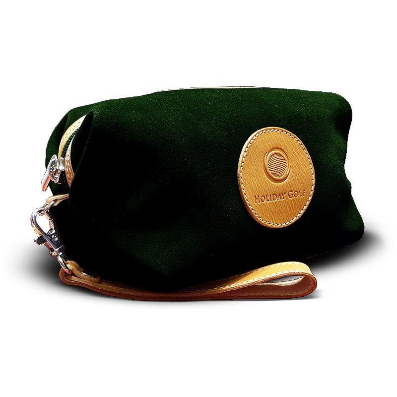 OfeliaT-Almeria-wristlet-Dark-Green-leather-handmade-spain