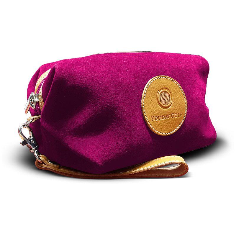 OfeliaT-Almeria-wristlet-Fucsia-leather-handmade-spain