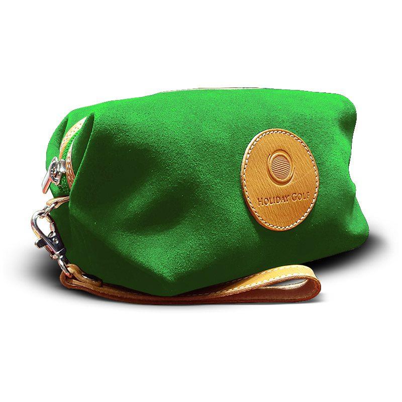 OfeliaT-Almeria-wristlet-Green-leather-handmade-spain