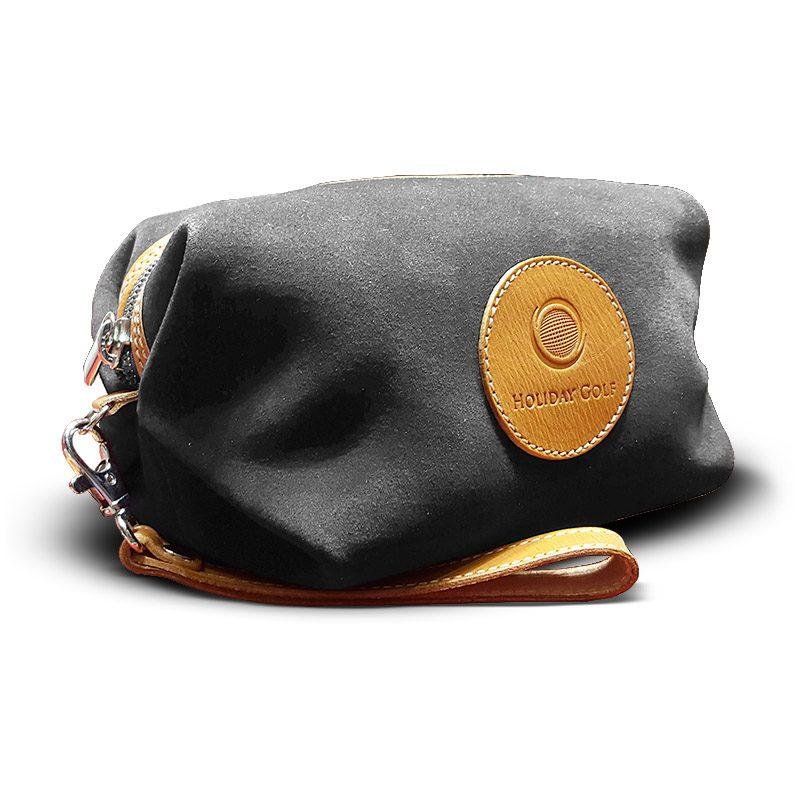 OfeliaT-Almeria-wristlet-Grey-leather-handmade-spain