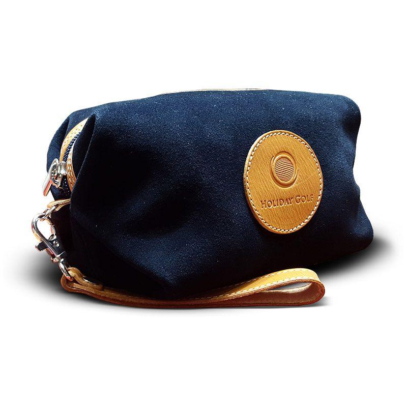 OfeliaT-Almeria-wristlet-Navy-leather-handmade-spain