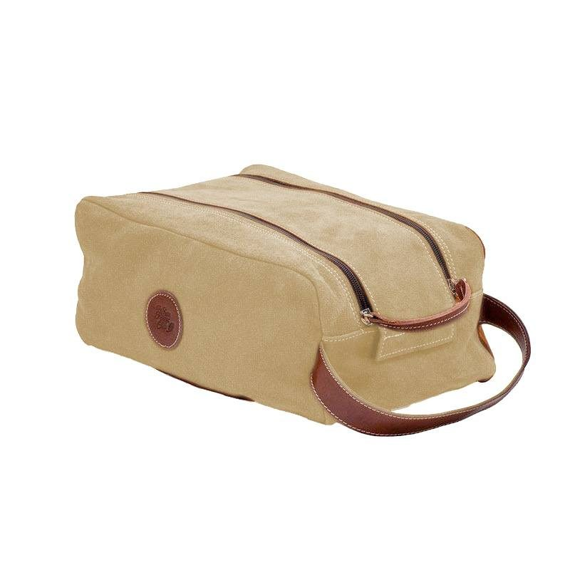 Ofelia T Barcelona Shoe Bag Natural Leather Handmade Spain